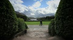 Muckross House view of Killarney Natl Park, Ireland GFHD Stock Footage