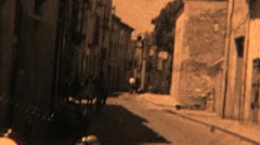 Drive Through Spain (Archival 1952) - stock footage
