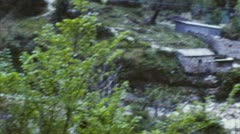 Quaint village - italy (archival 1960s) Stock Footage