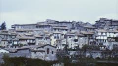 Village, italy (archival 1960s) Stock Footage
