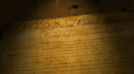 Stock Video Footage of Bill Of Rights, USA