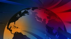news -  broadcast graphics title - stock footage