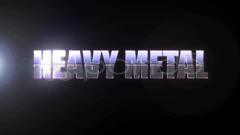 After Effects Project - Pond5 Insert Your Text Heavy Metal w sound no plug- ...