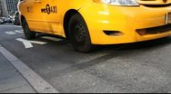 NYC Taxi Stock Footage