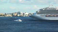 Cruise Ship 21 HD - stock footage