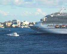 Cruise Ship 21 PAL - stock footage