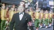 Shriners Parade Altantic City Circa 1960 (Vintage Film Home Movie) 1571 Stock Footage