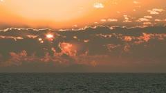 Timelapse Sunset Lacanau 01 Stock Footage