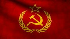URSS flag. Stock Footage