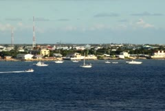 Grand Cayman Shoreline 03 NTSC Stock Footage