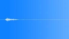 SFX - Woosh - Shoehorn - 9 - EAR Sound Effect