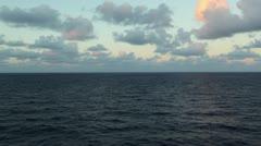 Ocean Water Passing 07 - stock footage