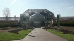Phipps Conservatory and Botanical Gardens Stock Footage