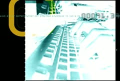 Cyber-crime graphic title theme Stock Footage
