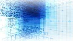 data code digital technology - stock footage