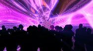People dancing in night club Stock Footage