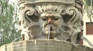 Fountain in Catania Stock Footage