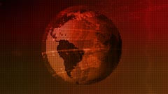 Earth Data Network Technology Abstract - stock footage