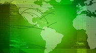 Global network, travel, communications Stock Footage