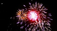 Stock Video Footage of Fireworks - Sharp Vibrant Clean HD