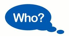 Five w's message bubbles blue Stock Footage