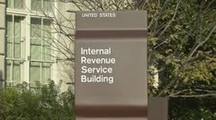IRS Stock Footage