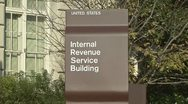 Stock Video Footage of IRS