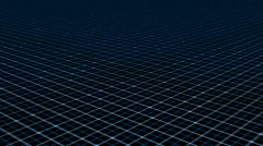 Grid High-Tech (Looping Infinity) Stock Footage