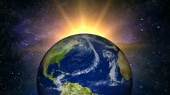 Heavens & Earth (HD Loop) Stock Footage