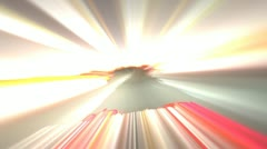 Light Streaks High Energy - stock footage