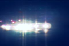 Lights streaks cars Stock Footage