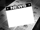 Stock Video Footage of news! - newspaper headline (reveal + loops)