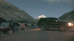 Everest base camp Stock Footage
