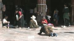 Jokhang temple, Tibet Stock Footage