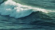 Stock Video Footage of ocean wave (super slow motion)