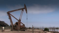 Oil Pump (HD Looping) Stock Footage