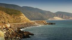 Pacific Coast - Southern California Beach Stock Footage
