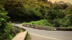 Driving the road to hana (maui, hawaii) Stock Footage