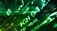 Stock Video Footage of stock market tickers digital data