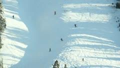 Ski Lift Snowboarding Ramp Snow Winter 25 - stock footage