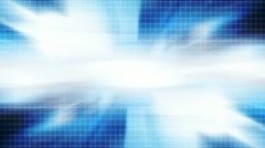 Grid Technology Blue Background - stock footage
