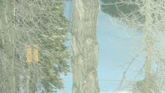 Ski Lift Snowboarding Ramp Snow Winter 41 - stock footage