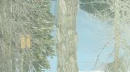Ski Lift Snowboarding Ramp Snow Winter 41 Stock Footage