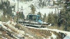 Snow Cat Ski Resort (2) - stock footage