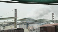 Factory Exterior Stock Footage