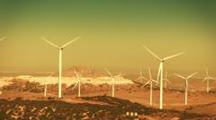 Stock Video Footage of Wind Turbines (Renewable Energy)