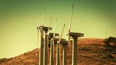 Wind Turbines (Renewable Energy) Stock Footage