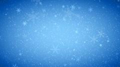 Stock Video Footage of Winter Wonder Snowflakes