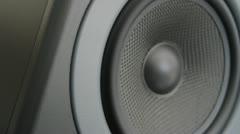 Thumping Bass Audio Speaker (Loop) - stock footage