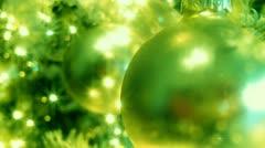 Green Christmas Tree (Hd Loop) - stock footage